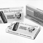 Bickiepegs Packaging from 1967